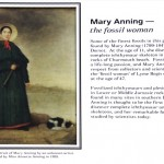 Mary Anning (1799-1847) : la dame des fossiles